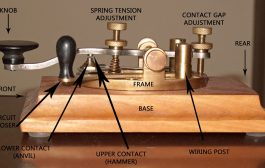 Sending CW With a Straight Key–Morse Code