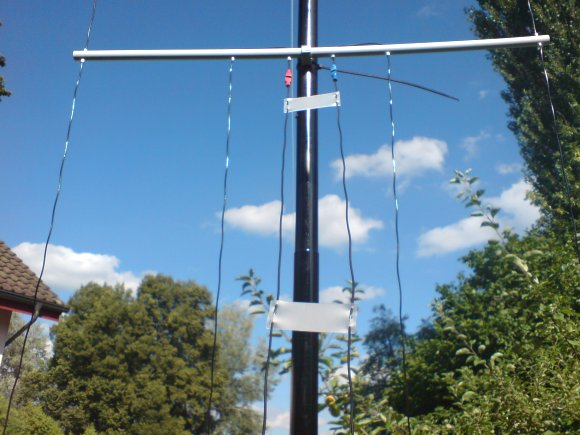 MULTIBAND H-POLE - VERTICAL WIRE ANTENNA FOR 160m - 10m by