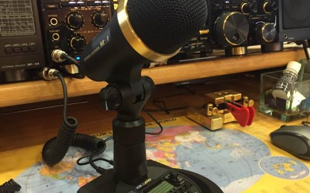 Yaesu M1 – Desktop Microphone  [  Video ]