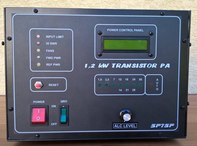 Amplifier 1.2 kW Spert 1200  – 1.8 to 50 MHz