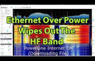 HF Interference Problem from Ethernet over Powerlines Devices
