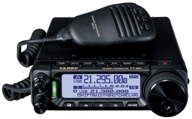 Yaesu FT 891 Install And First Contact