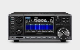 Newly released receiver Icom IC-R 8600 compatible with digital wave