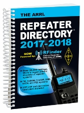 New ARRL Repeater Directory® is Biggest Ever!