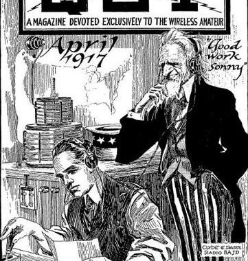 Centennial of Amateur Radio Blackout for World War I Occurs on April 6