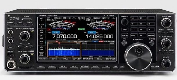 ICOM  IC 7610 – Official Announcent
