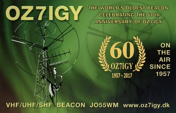 OZ7IGY 40 MHz Beacon Shifts to Next Generation Beacons Platform