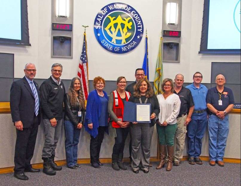 Nevada ARES Team Honored