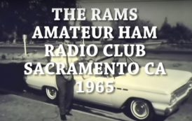 The local HAM radio club, the Rams takes a reporter out on a hidden transmitter hunt in 1965
