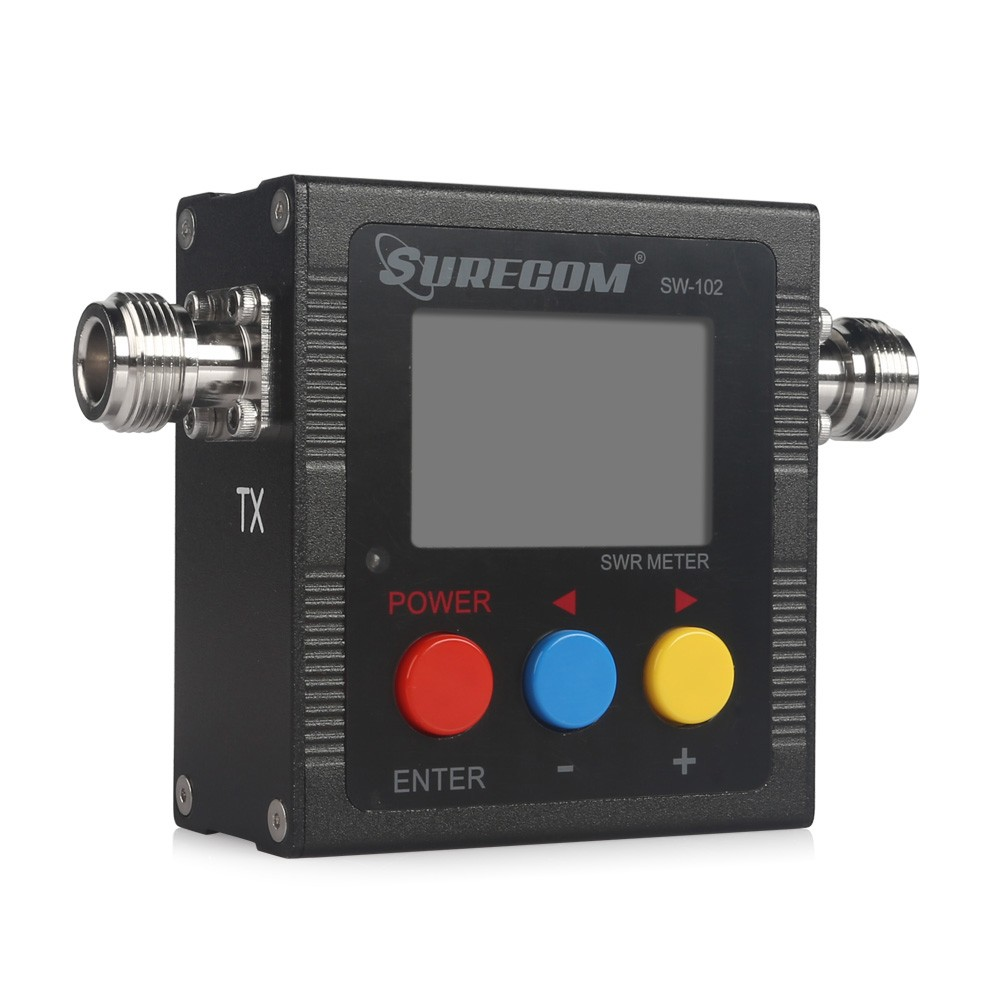 TYT SW-102 VHF / UHF SWR METER WITH RF POWER METER AND FREQUENCY COUNTER