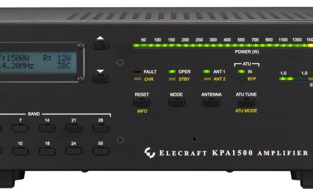KPA1500+ W Solid State Amplifier /160-6 meters – Elecraft
