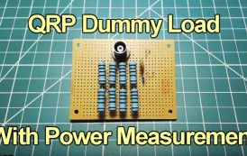 How To Build A QRP Dummy Load by K7AGE