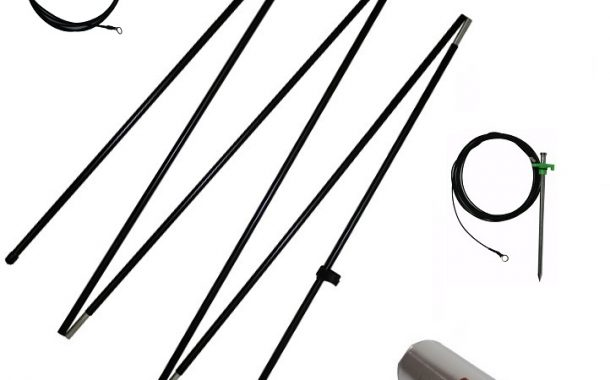 Tuner free directional HF Multiband Field Expedient Antenna kit