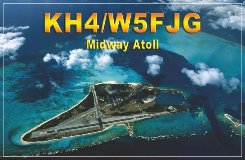 KH4 and KH7/K – Midway and Kure Islands Reinstated as DXCC Entities