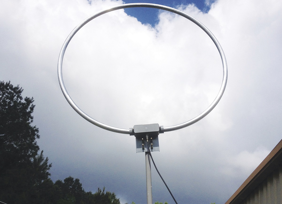 Review of MFJ-1886 Rx-only Antenna