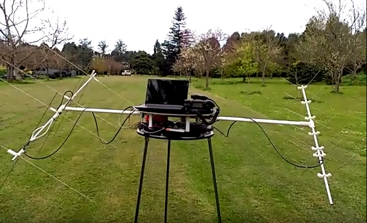 Automated Portable Station for tracking the orbit of ham satellites [Video]