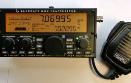 Audio Amplied Speaker Microphone designed for the Elecraft KX 2 and KX3 transceivers