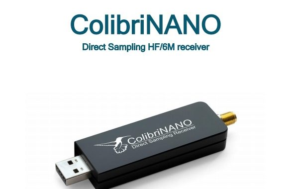 ColibriNANO Direct Sampling HF/6M receiver [ User Manual ]
