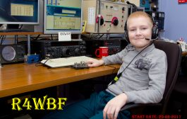 9 years old – R4WBF Morse Runner 45 wpm