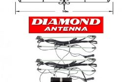 DIAMOND WD 330S a T2FD Short Antenna 2 – 30MHz