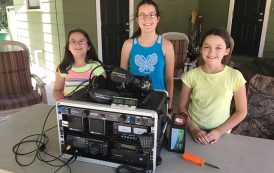 Ham Kids Give a Close-up Look at Their Amateur Radio Go Box