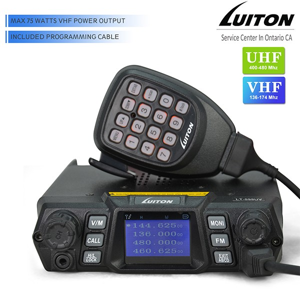 Luiton LT-598UV – 75 watts dual band FM mobile [ Video ]