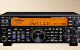 "Kenwood's 70th anniversary commemoration model""TS-590SG 70″ with ""TRIO"" logo"