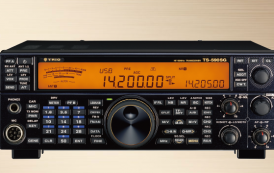 """Kenwood's 70th anniversary commemoration model""""TS-590SG 70″ with """"TRIO"""" logo"""