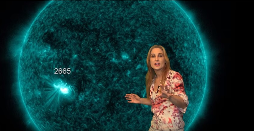 Massive Sunspot Launches Big Solar Storm at Earth: Solar Storm Forecast 07-15-2017