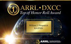 ARRL Radiosport Department Debuts New Honor Roll, Top of Honor Roll Plaques