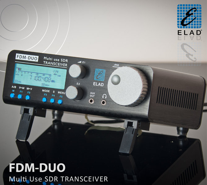 ELAD FDM-DUO SDR QRP Quick Tour and Review