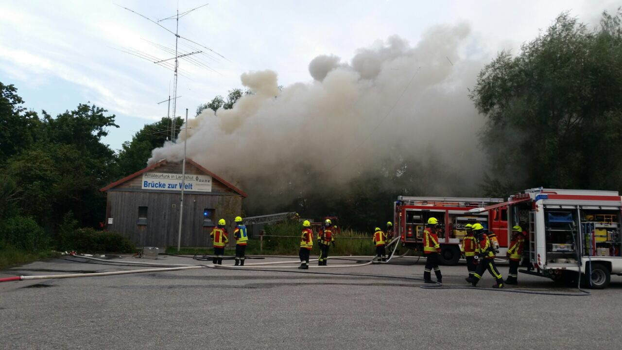 Fire in Amateur Radio Club in Germany