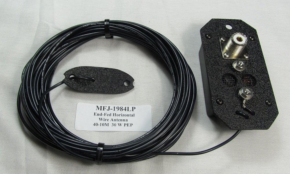 Review of MFJ-1984MP End-Fed Multi-band Antenna