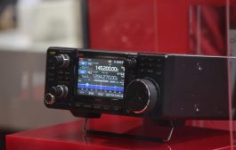Icom IC-9700 VHF/UHF/1.2GHz Prototype transceiver Shown at Tokyo Hamfair 2017