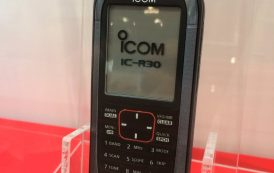 IC-R30 Communications Receiver [ Video ] HamFair