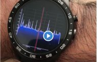 Airspy HF+ and SpyServer streaming FFT and Audio data to an Android watch