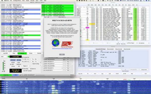 WSJTX 1.8.0 RC3 – Released