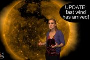 Fast Wind Returns Bringing Aurora: Solar Storm Forecast 10-12-2017