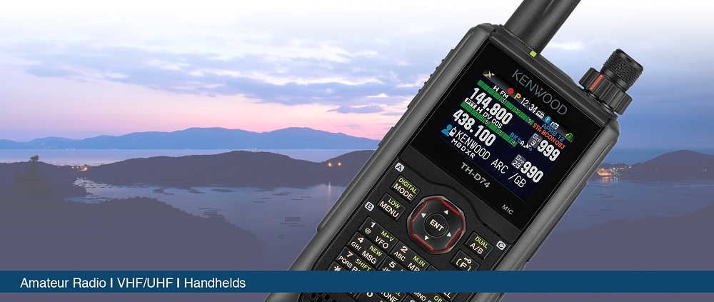 TH-D74 VHF/UHF Dual Band Handheld with GPS Webnair