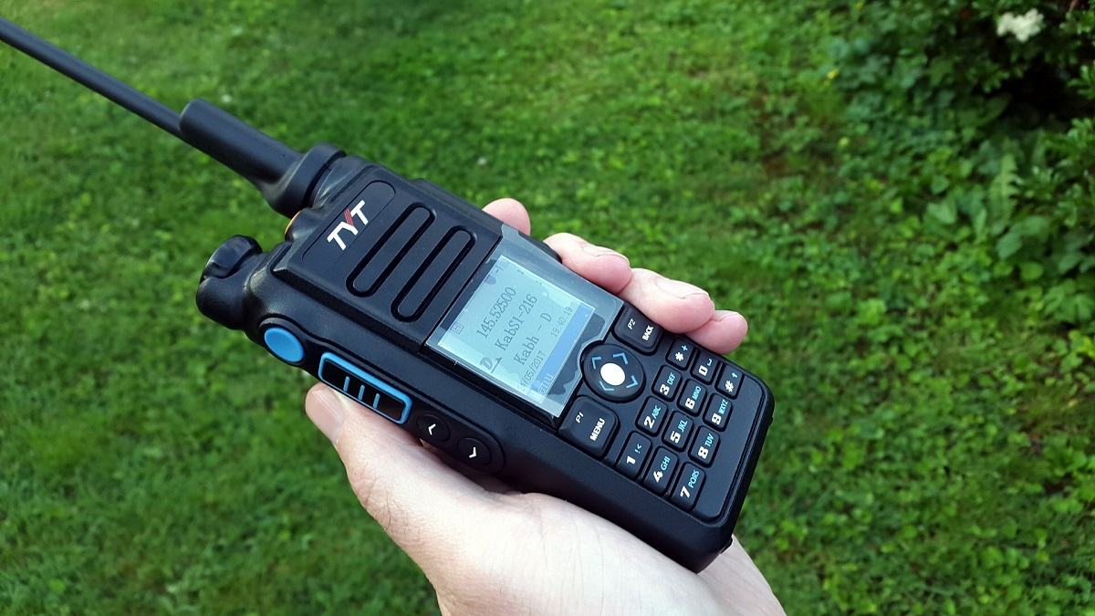 Comparing the MD2017 & RT82 DMR HTs, DMRTrack Firmware Info