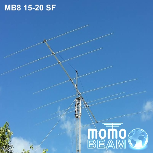 Antenna DUO8 15-20 separate feed – Momobeam
