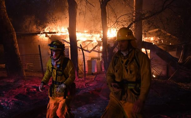 Amateur Radio Volunteers Active in Latest Round of California Wildfires