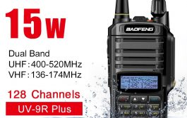 Baofeng UV9R Plus Waterproof –  Dual Band FM VHF UHF