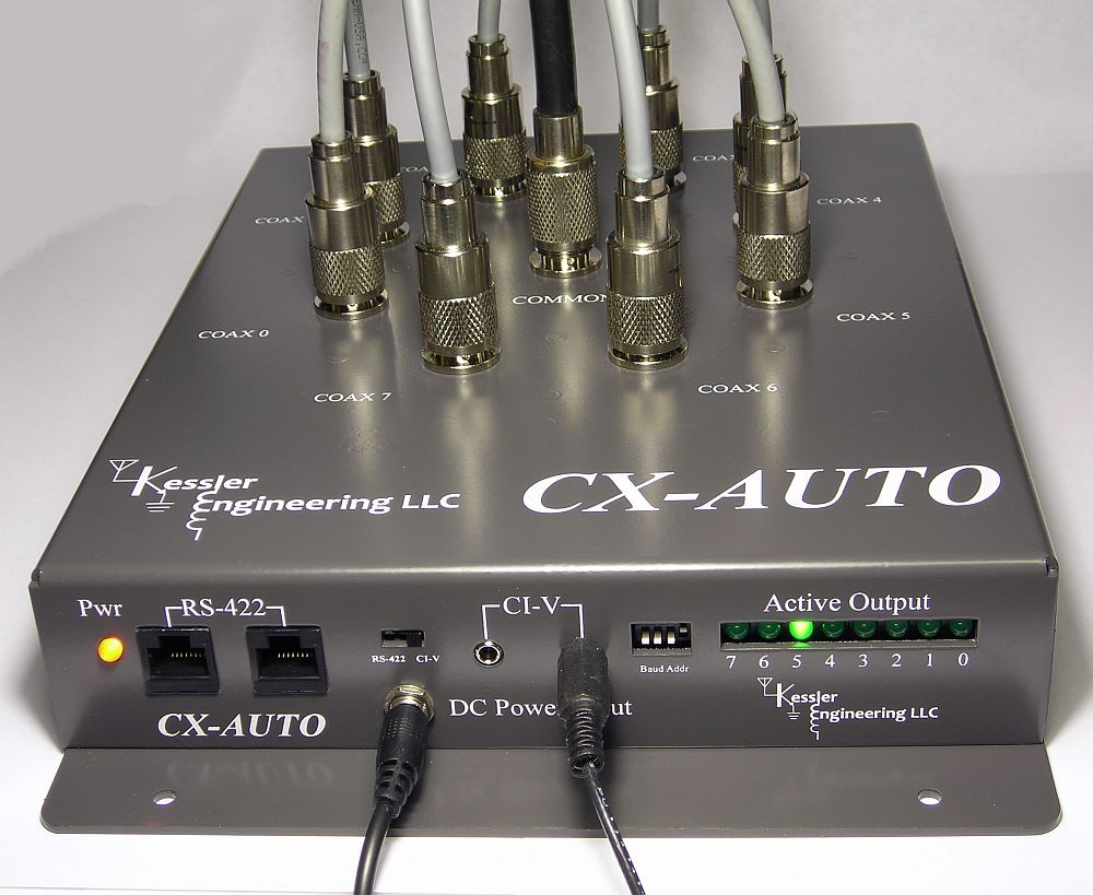 CX-AUTO Switch – Kessler Engineering, LLC | QRZ Now – Amateur Radio News