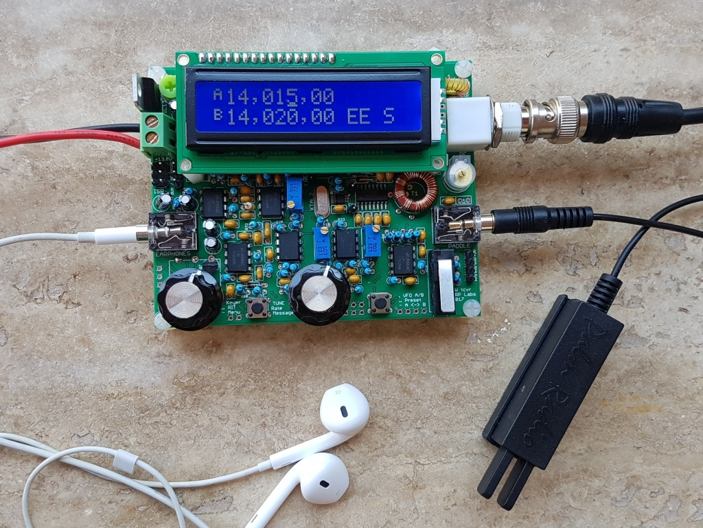 On the air review of qrp labs qcx by ke og qrz now