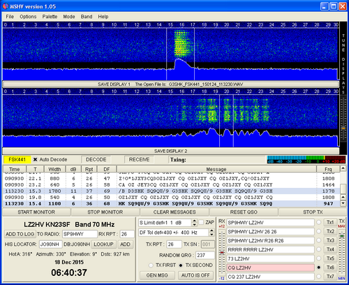 New MSHV version 1 62 with FT8 , JT65 and more