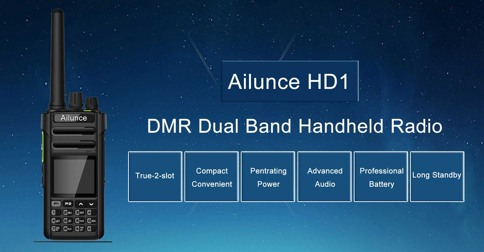 Ailunnce HD1 DMR – Review and how to build a DMR codeplug - iz4wnp