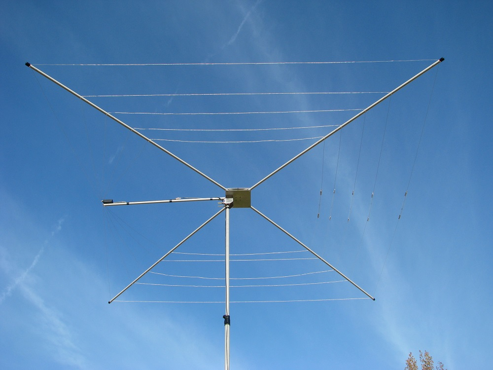MFJ Extends its Cobweb Antenna to 40 Meters [ Review ]