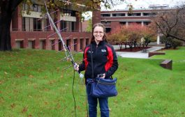 "Ham Radio ""a Special Hobby,"" Young ARRL Member Tells College Publication"