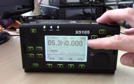 Review of MFJ's New Xiegu X5105 HF QRP Deluxo
